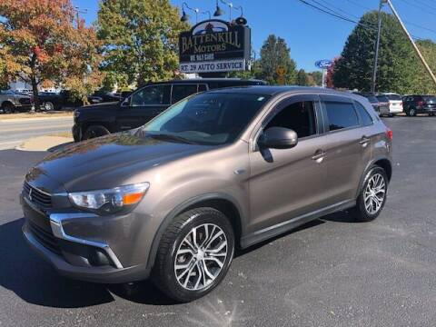 2017 Mitsubishi Outlander Sport for sale at BATTENKILL MOTORS in Greenwich NY