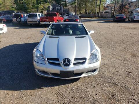 2005 Mercedes-Benz SLK for sale at 1st Priority Autos in Middleborough MA