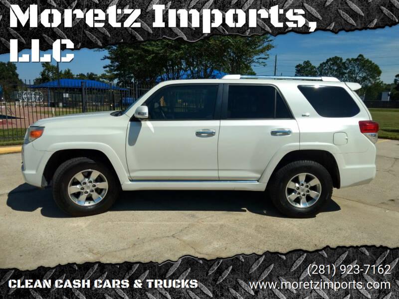2010 Toyota 4Runner for sale at Moretz Imports, LLC in Spring TX