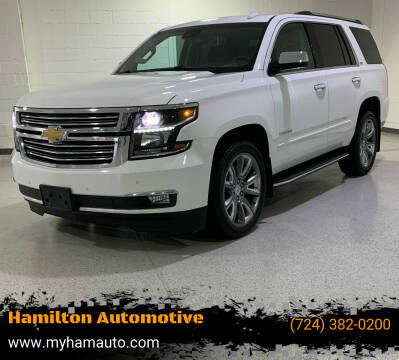 2015 Chevrolet Tahoe for sale at Hamilton Automotive in North Huntingdon PA