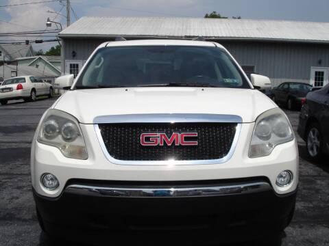 2012 GMC Acadia for sale at Pete's Bridge Street Motors in New Cumberland PA