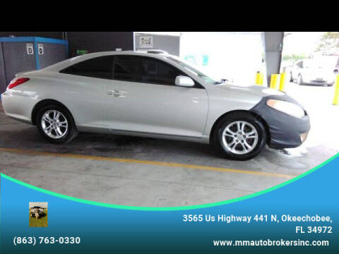 2006 Toyota Camry Solara for sale at M & M AUTO BROKERS INC in Okeechobee FL