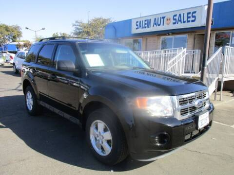 2012 Ford Escape for sale at Salem Auto Sales in Sacramento CA