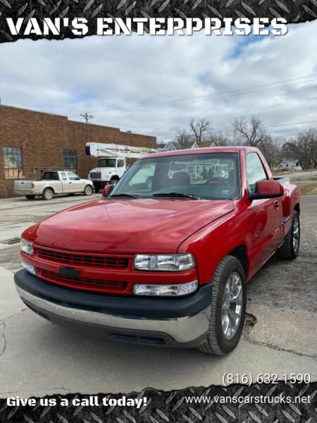 2000 Chevrolet Silverado 1500 for sale at VAN'S ENTERPRISES in Cameron MO