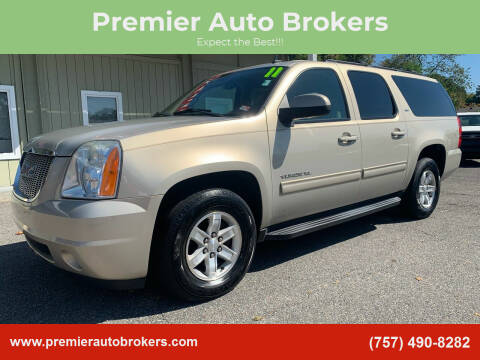 2011 GMC Yukon XL for sale at Premier Auto Brokers in Virginia Beach VA