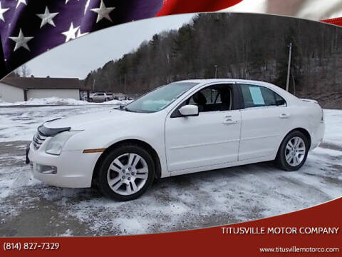 2009 Ford Fusion for sale at Titusville Motor Company in Titusville PA