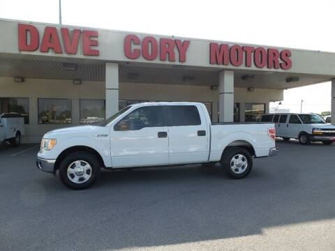 2013 Ford F-150 for sale at DAVE CORY MOTORS in Houston TX