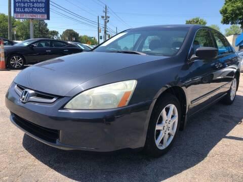 2004 Honda Accord for sale at Capital Motors in Raleigh NC
