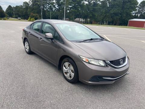 2013 Honda Civic for sale at Carprime Outlet LLC in Angier NC