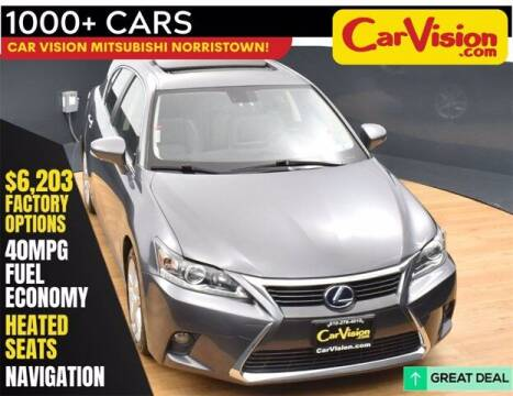 2016 Lexus CT 200h for sale at Car Vision Buying Center in Norristown PA
