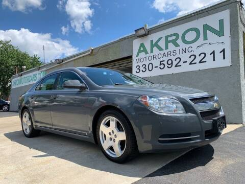 2009 Chevrolet Malibu for sale at Akron Motorcars Inc. in Akron OH