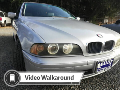 2001 BMW 5 Series for sale at Quality Auto Outlet in Vista CA