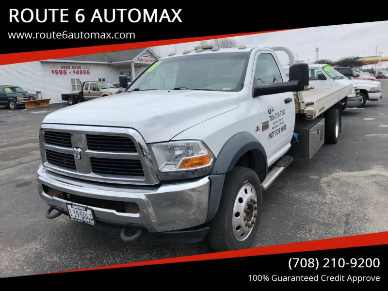 2012 RAM Ram Chassis 5500 for sale at ROUTE 6 AUTOMAX in Markham IL