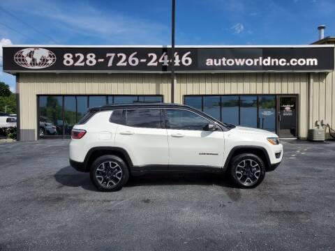 2019 Jeep Compass for sale at AutoWorld of Lenoir in Lenoir NC