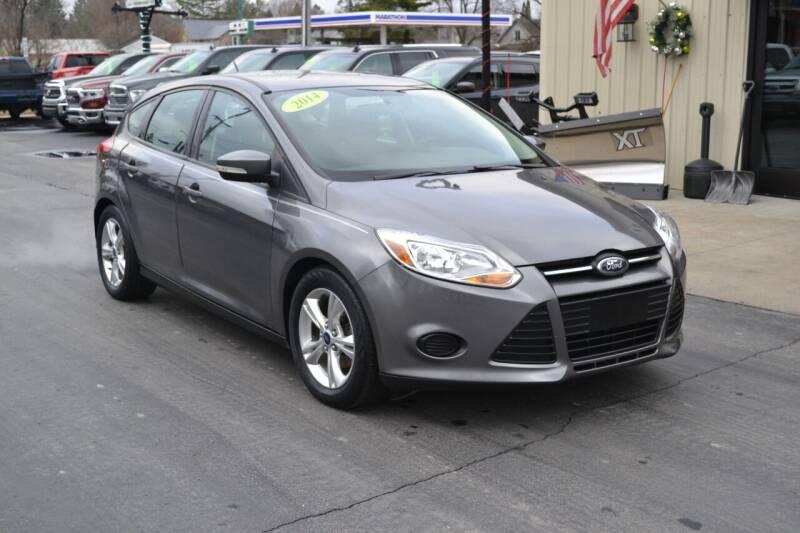 2014 Ford Focus for sale at Nick's Motor Sales LLC in Kalkaska MI