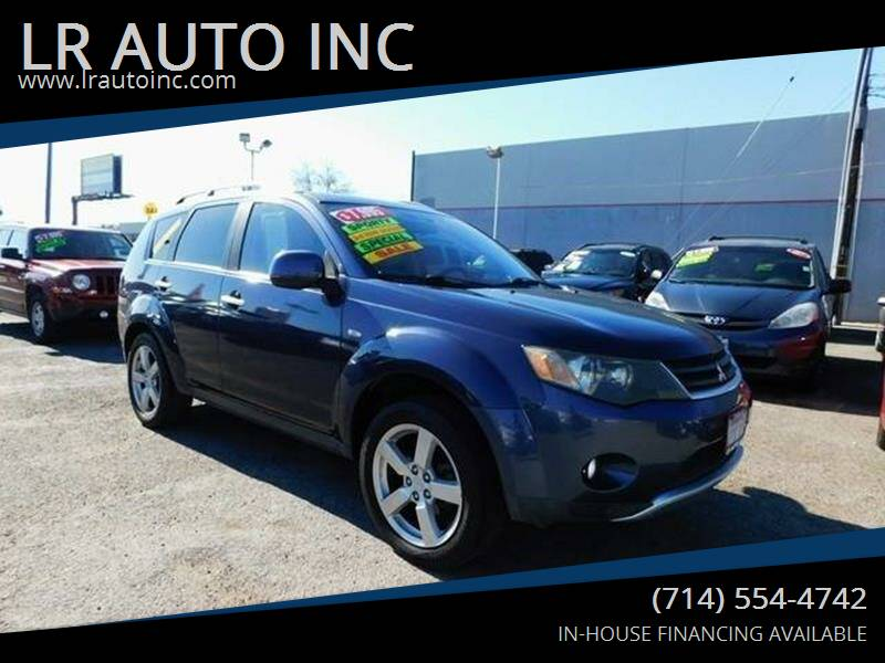 2007 Mitsubishi Outlander for sale at LR AUTO INC in Santa Ana CA