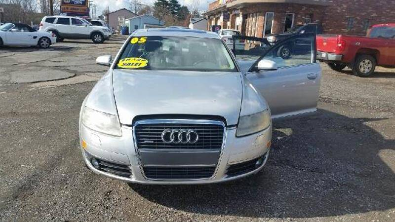 2005 Audi A6 for sale at Rash Automotive Used Cars Sales & Service in Weirton WV