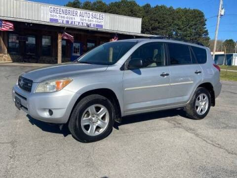 2008 Toyota RAV4 for sale at Greenbrier Auto Sales in Greenbrier AR