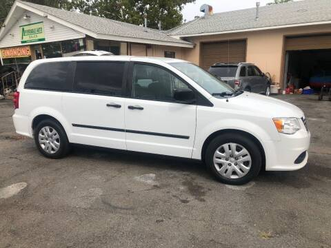 2015 Dodge Grand Caravan for sale at Affordable Auto Detailing & Sales in Neptune NJ