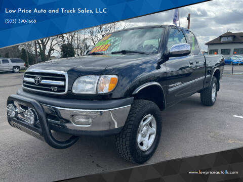 2000 Toyota Tundra for sale at Low Price Auto and Truck Sales, LLC in Salem OR