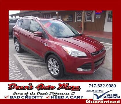2015 Ford Escape for sale at Dean's Auto Plaza in Hanover PA