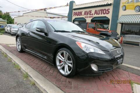 2010 Hyundai Genesis Coupe for sale at PARK AVENUE AUTOS in Collingswood NJ
