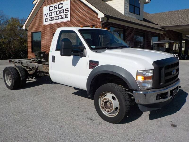 2009 Ford F-550 Super Duty for sale at C & C MOTORS in Chattanooga TN