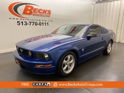 2009 Ford Mustang for sale at Becks Auto Group in Mason OH