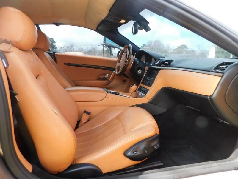 2010 Maserati GranTurismo 2dr Convertible - Jonesboro GA