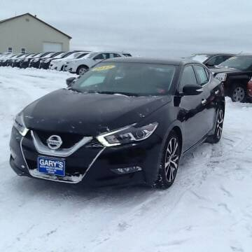 2017 Nissan Maxima for sale at Garys Sales & SVC in Caribou ME