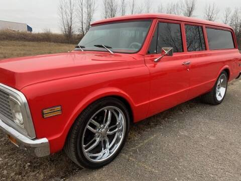 1972 Chevrolet Suburban for sale at Haggle Me Classics in Hobart IN