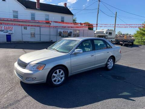 2000 Toyota Avalon for sale at 4X4 Rides in Hagerstown MD