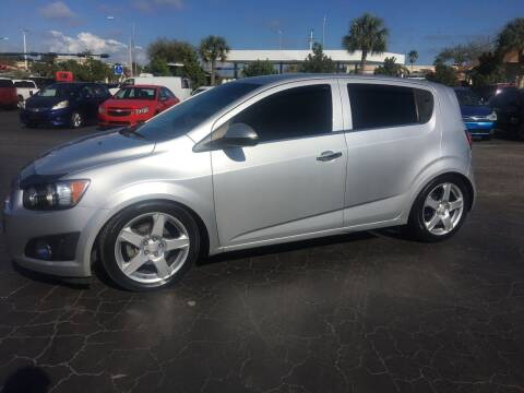 2015 Chevrolet Sonic for sale at CAR-RIGHT AUTO SALES INC in Naples FL