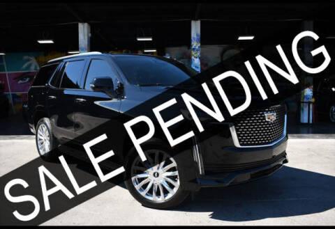 2021 Cadillac Escalade for sale at AE Of Miami in Miami FL