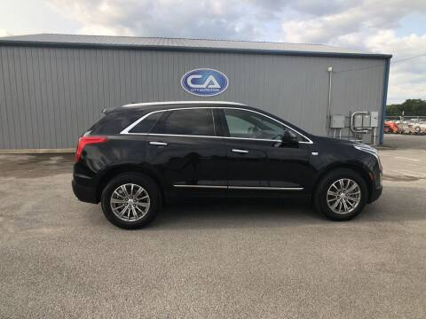 2017 Cadillac XT5 for sale at Team Hall at City Auto in Murfreesboro TN
