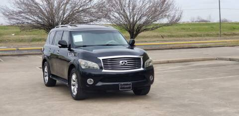 2012 Infiniti QX56 for sale at America's Auto Financial in Houston TX