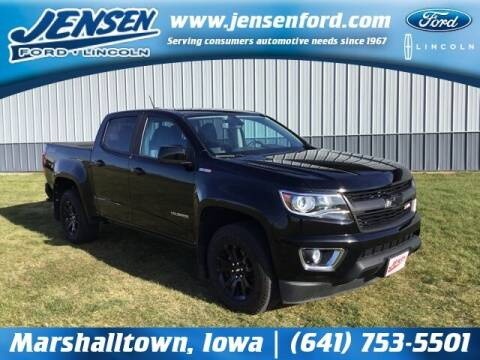 2017 Chevrolet Colorado for sale at JENSEN FORD LINCOLN MERCURY in Marshalltown IA