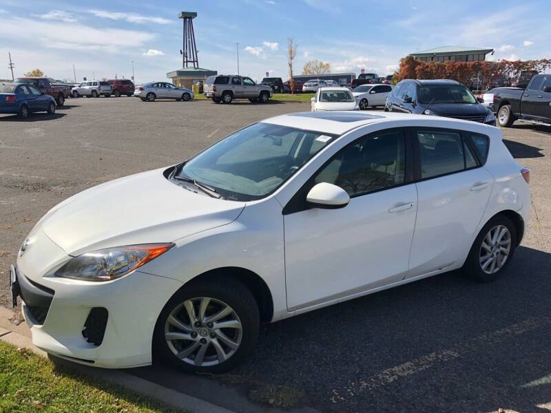 2012 Mazda MAZDA3 for sale at Capitol Hill Auto Sales LLC in Denver CO