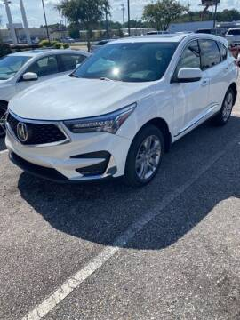 2021 Acura RDX for sale at JOE BULLARD USED CARS in Mobile AL