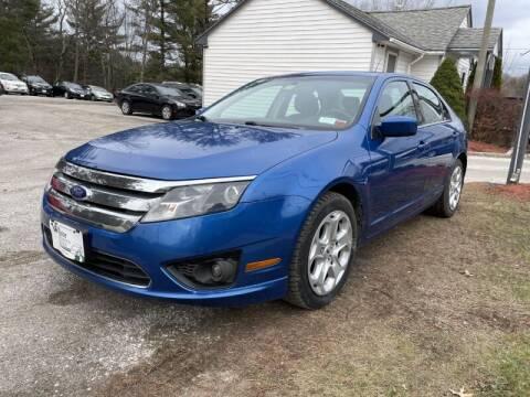 2011 Ford Fusion for sale at Williston Economy Motors in Williston VT