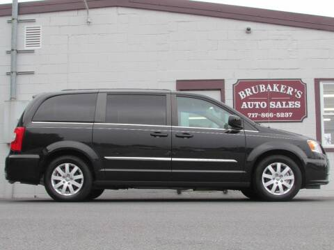 2015 Chrysler Town and Country for sale at Brubakers Auto Sales in Myerstown PA