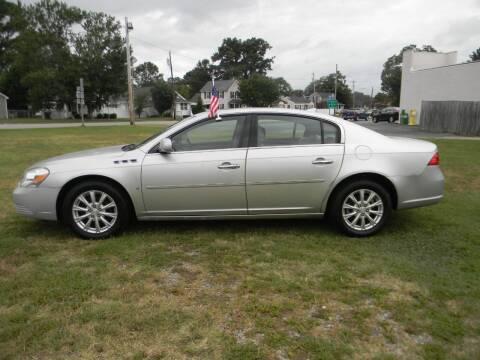 2009 Buick Lucerne for sale at SeaCrest Sales, LLC in Elizabeth City NC