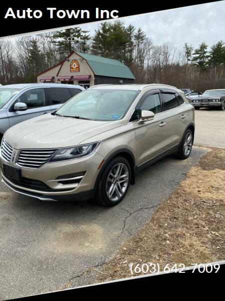 2015 Lincoln MKC for sale at Auto Town Inc in Brentwood NH