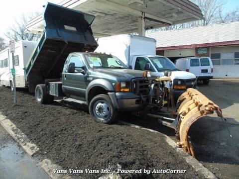2007 Ford F-550 Super Duty for sale at Vans Vans Vans INC in Blauvelt NY