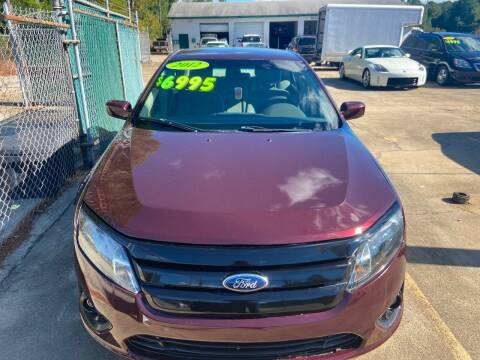 2012 Ford Fusion for sale at Mc Grady Motor Co in Fayetteville NC