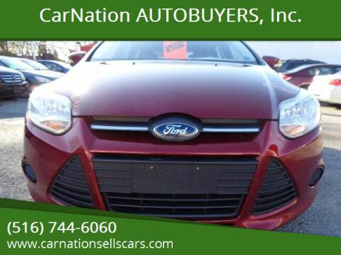 2013 Ford Focus for sale at CarNation AUTOBUYERS, Inc. in Rockville Centre NY