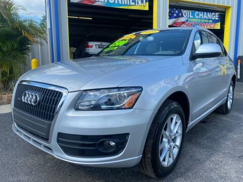 2011 Audi Q5 for sale at RoMicco Cars and Trucks in Tampa FL