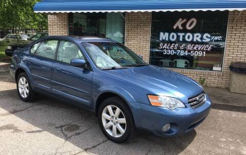 2007 Subaru Outback for sale at K O Motors in Akron OH