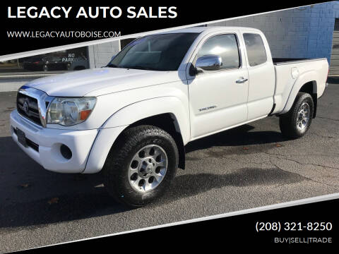 2008 Toyota Tacoma for sale at LEGACY AUTO SALES in Boise ID