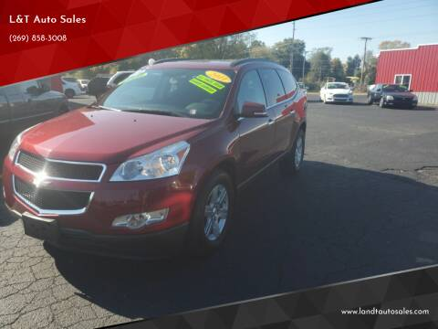 2011 Chevrolet Traverse for sale at L&T Auto Sales in Three Rivers MI